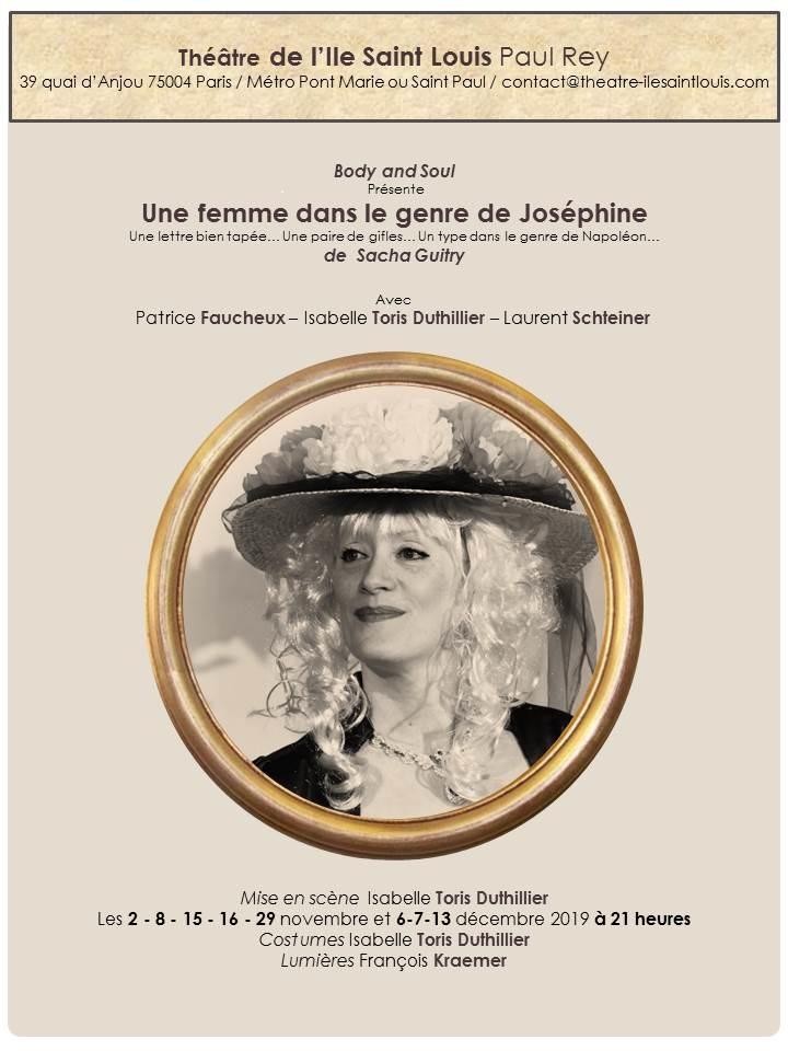 Une femme dans le genre de Josephine (1)